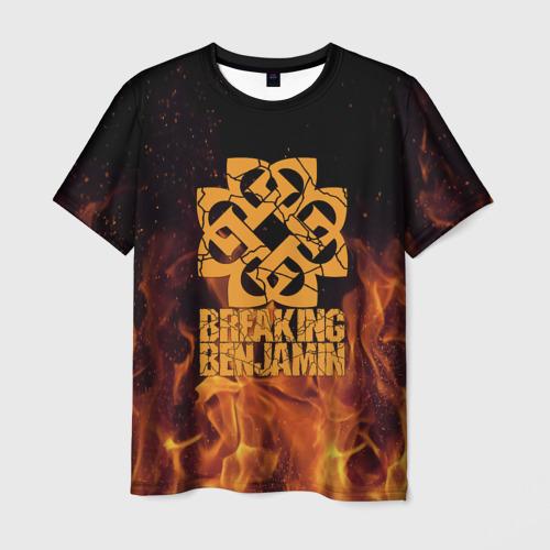 Мужская футболка 3D  Фото 01, Breaking Benjamin