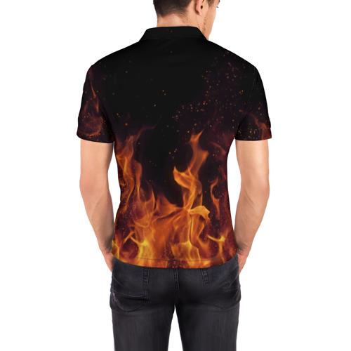 Мужская рубашка поло 3D  Фото 04, Breaking Benjamin