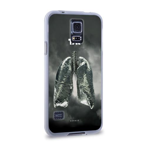 Чехол для Samsung Galaxy S5 силиконовый  Фото 02, TFK Exhale