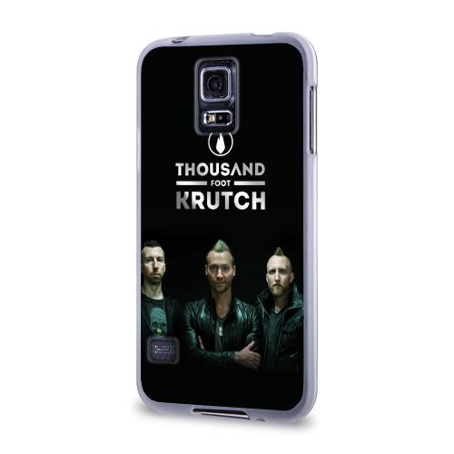 Чехол для Samsung Galaxy S5 силиконовый  Фото 03,  TFK band