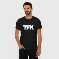 TFK logo white