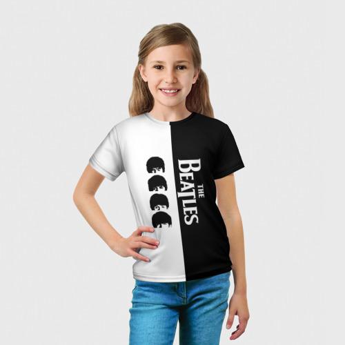 Детская футболка 3D  Фото 03, The Beatles
