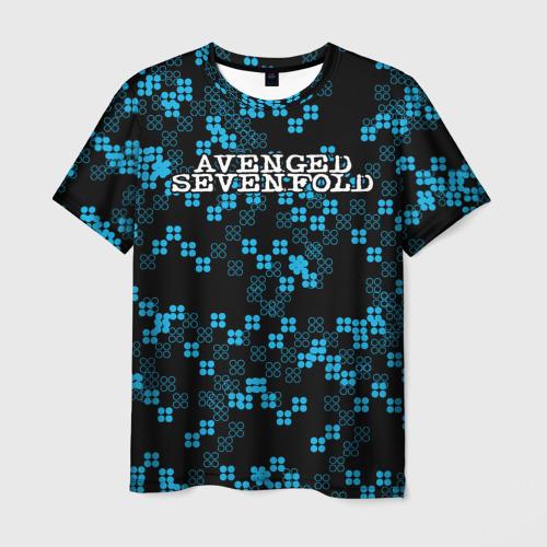 Мужская футболка 3D  Фото 01, Avenged Sevenfold