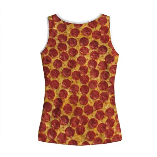 Женская майка 3D  Фото 02, Пицца пепперони