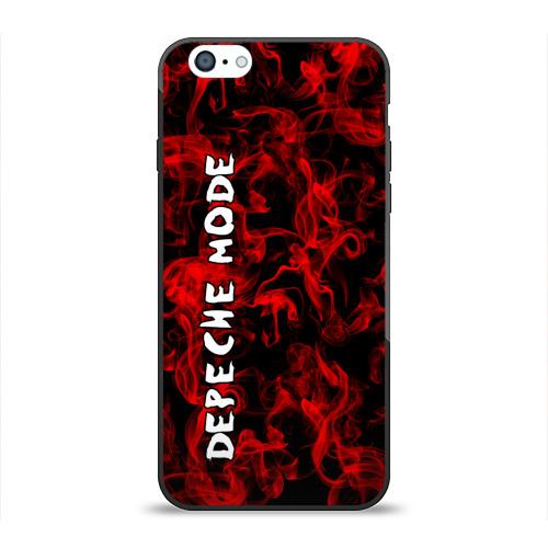 Чехол для Apple iPhone 6 силиконовый глянцевый  Фото 01, Depeche Mode