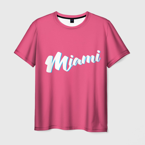 Мужская футболка 3D  Фото 01, Маями