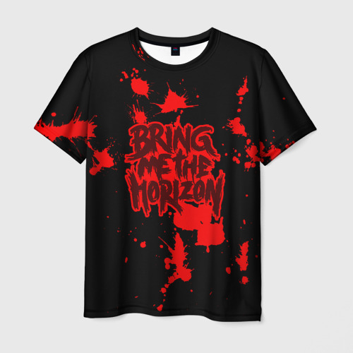 Мужская футболка 3D  Фото 03, Bring Me the Horizon