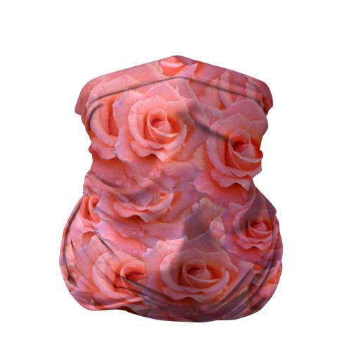 Бандана-труба 3D  Фото 01, Розы