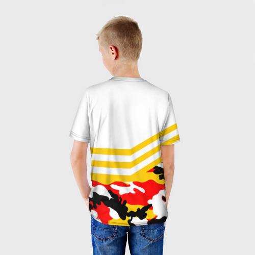 Детская футболка 3D  Фото 02, Камуфляж Российская Империя