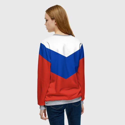 Женский свитшот 3D Россия Фото 01