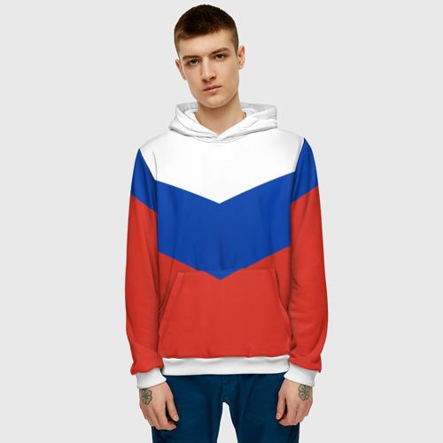 Мужская толстовка 3D Россия Фото 01