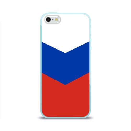 Чехол для iPhone 5/5S глянцевый Россия Фото 01