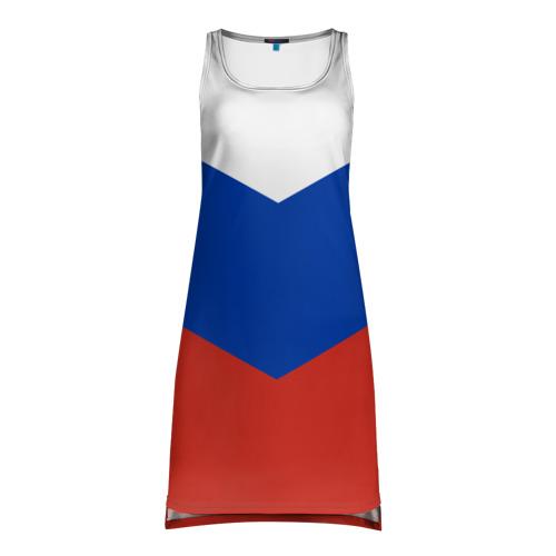 Платье-майка 3D Россия