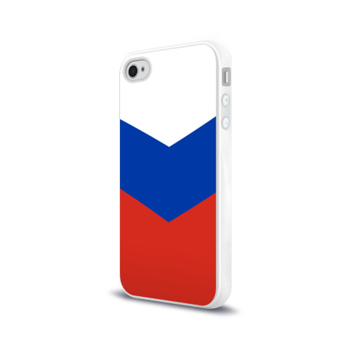 Чехол для Apple iPhone 4/4S силиконовый глянцевый Россия Фото 01