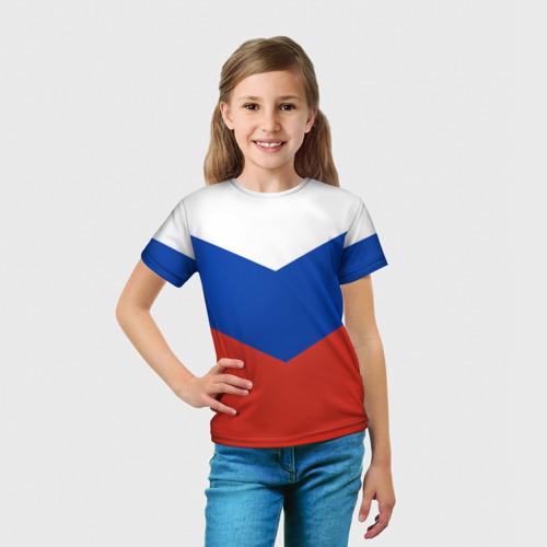 Детская футболка 3D Россия Фото 01