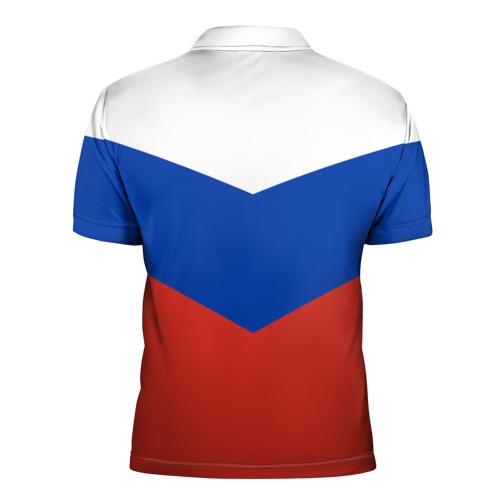 Мужская рубашка поло 3D Россия Фото 01
