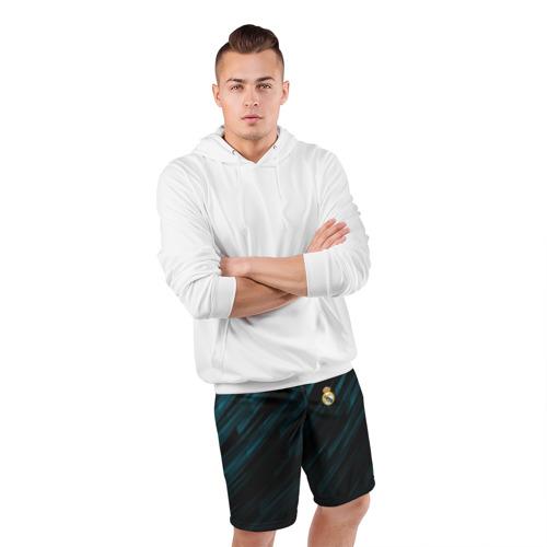 Мужские шорты 3D спортивные  Фото 05, REAL MADRID