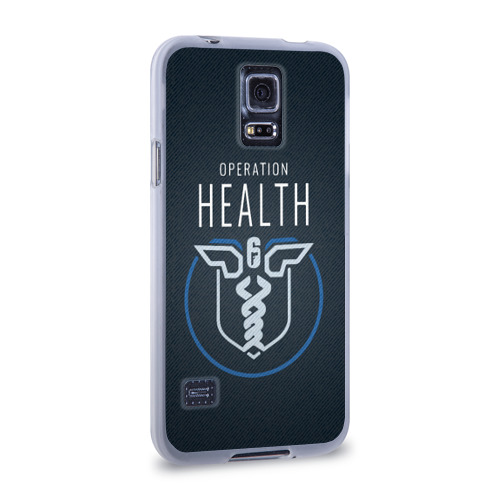 Чехол для Samsung Galaxy S5 силиконовый  Фото 02, Operation health