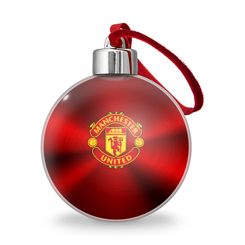 Ёлочный шар Manchester United F.C. Фото 01