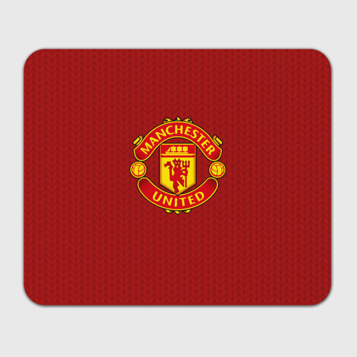 Коврик для мышки прямоугольный  Фото 01, Manchester United Knitted