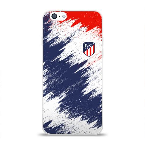 Чехол для Apple iPhone 6 силиконовый глянцевый  Фото 01, Atletico Madrid
