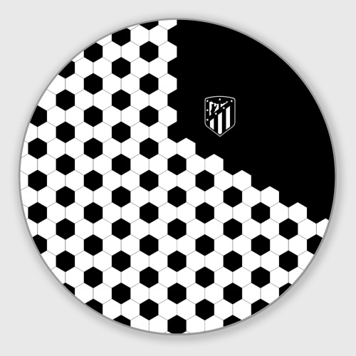 Коврик для мышки круглый Atletico Madrid Фото 01