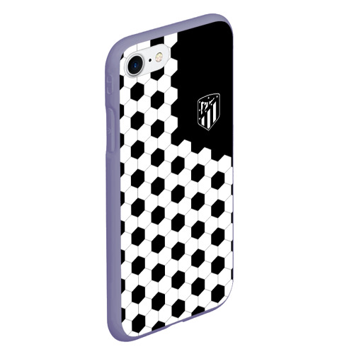 Чехол для iPhone 7/8 матовый Atletico Madrid Фото 01