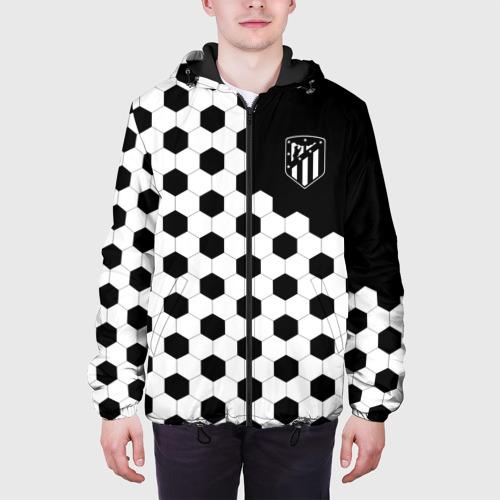 Мужская куртка 3D Atletico Madrid Фото 01