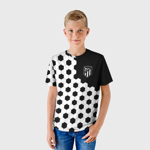 Детская футболка 3D Atletico Madrid Фото 01