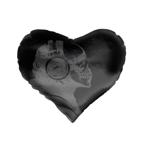 Подушка 3D сердце  Фото 01, Музыкальный череп