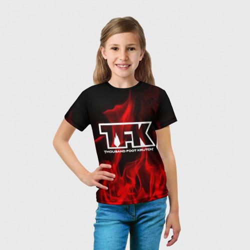Детская футболка 3D  Фото 03, thousand foot krutch