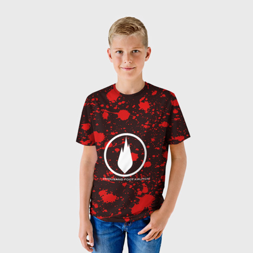 Детская футболка 3D  Фото 01, Thousand Foot Krutch