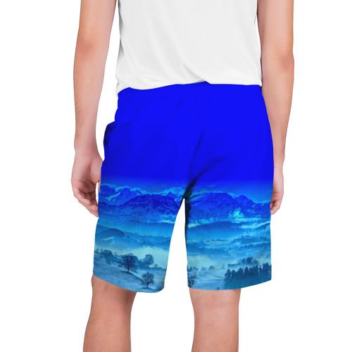 Мужские шорты 3D  Фото 02, Снежные горы