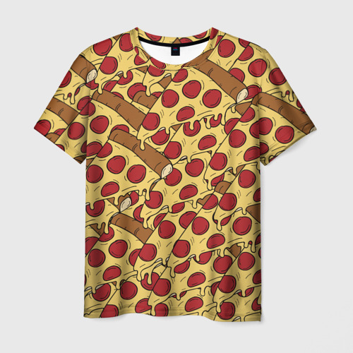 Мужская футболка 3D Pizza