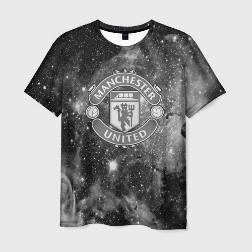 Мужская футболка 3D Manchester United Cosmos