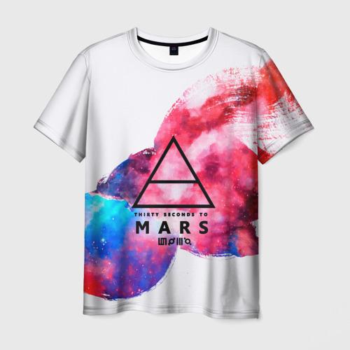 Мужская футболка 3D  Фото 01, 30 Seconds to Mars
