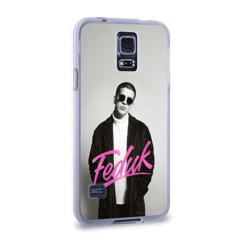 Чехол для Samsung Galaxy S5 силиконовый  Фото 02, Feduk black and white