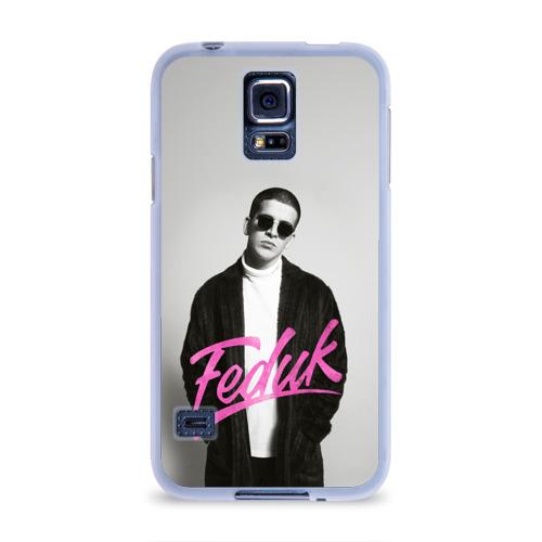 Чехол для Samsung Galaxy S5 силиконовый  Фото 01, Feduk black and white