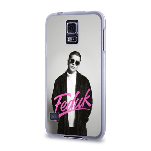Чехол для Samsung Galaxy S5 силиконовый  Фото 03, Feduk black and white