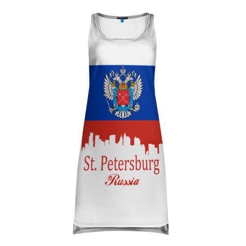 Платье-майка 3D Санкт-Петербург
