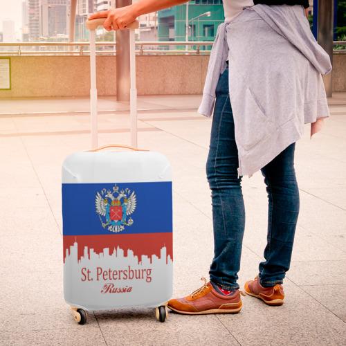 Чехол для чемодана 3D  Фото 04, Санкт-Петербург
