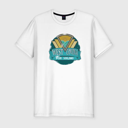 Мужская футболка премиум  Фото 01,  West Covina