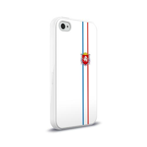 Чехол для Apple iPhone 4/4S силиконовый глянцевый  Фото 02, Республика Крым