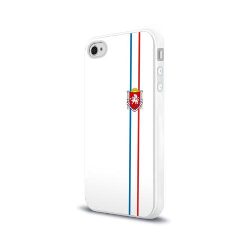 Чехол для Apple iPhone 4/4S силиконовый глянцевый  Фото 03, Республика Крым