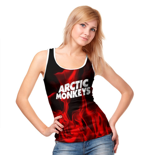 Женская майка 3D  Фото 05, Arctic Monkeys