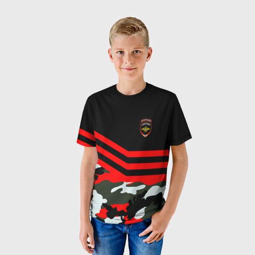 Детская футболка 3D  Фото 01, Камуфляж Полиция
