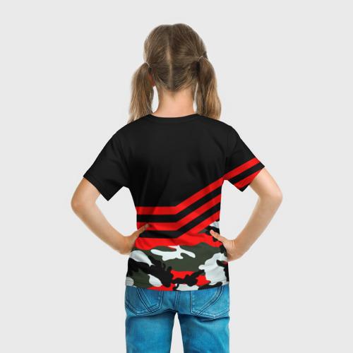Детская футболка 3D  Фото 04, Камуфляж Полиция