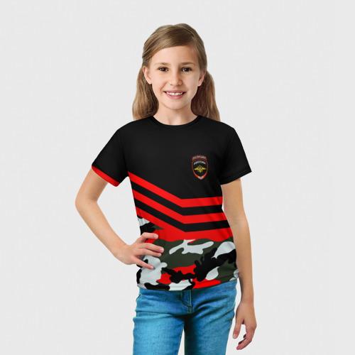 Детская футболка 3D  Фото 03, Камуфляж Полиция