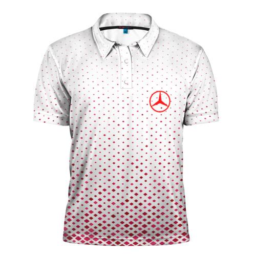 Мужская рубашка поло 3D  Фото 01, MERCEDES-BENZ