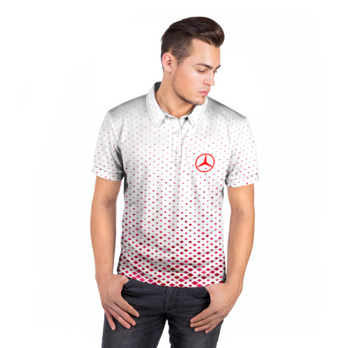 Мужская рубашка поло 3D  Фото 05, MERCEDES-BENZ